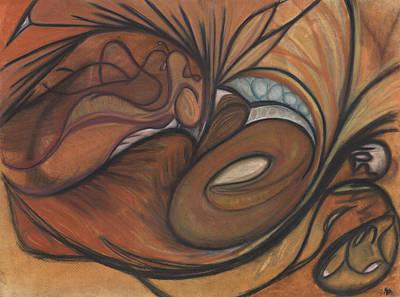 Canyon Dancer Art Print by Stu Hanson