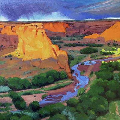 Painting - Canyon De Chelly by Elizabeth Jose