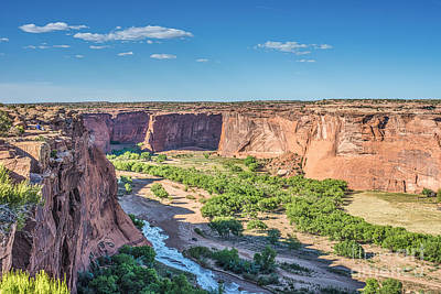 Southwest Photograph - Canyon De Chelly Overlook by Tod and Cynthia Grubbs