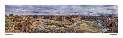 Art Print featuring the photograph Canyon De Chelly by R Thomas Berner