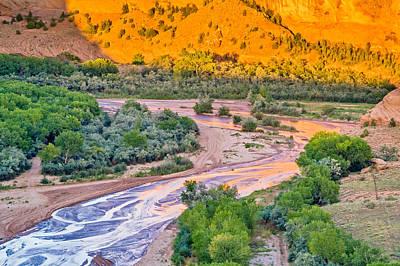 Tsegi Sunset - Canyon De Chelly National Monument Photograph Print by Duane Miller