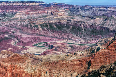 Photograph - Canyon Expanse by John M Bailey