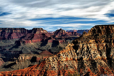 Canyon Grandeur Art Print