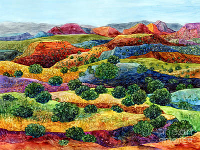 Painting - Canyon Impressions by Hailey E Herrera