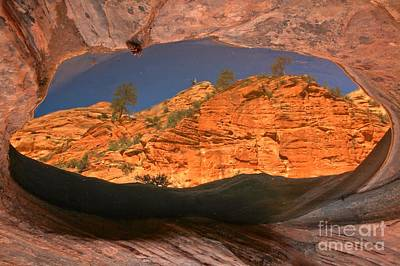 Photograph - Canyon In A Pool by Adam Jewell
