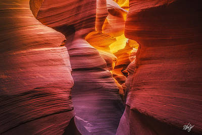 Canyon Incandescence  Art Print by Peter Coskun