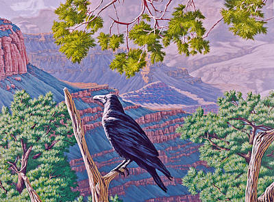 Painting - Canyon Jester by Cheryl Fecht