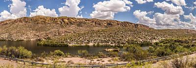 Canyon Lake Panoramic Art Print
