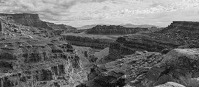 Photograph - Canyon Lands Ravine by Peter J Sucy