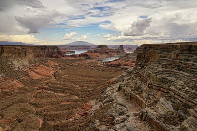Photograph - Canyon Overlook by Leda Robertson