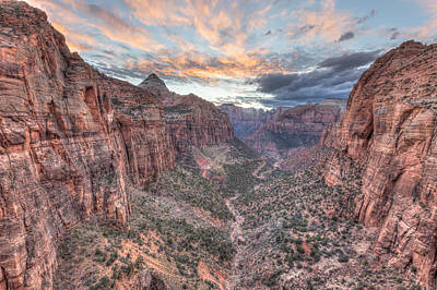 Photograph - Canyon Overlook by Paul Schultz