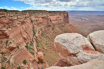 Photograph - Canyon Overlook by Ray Mathis