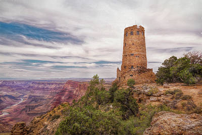 Photograph - Canyon Overwatch by John M Bailey