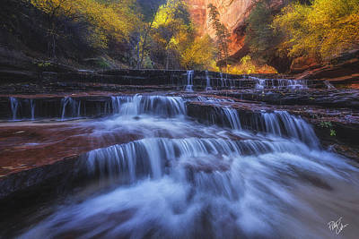 Canyon Paradise Art Print by Peter Coskun