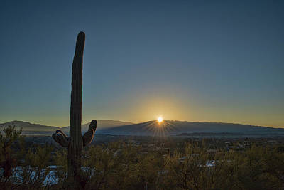 Photograph - Canyon Ranch Sunrise by Dan McManus