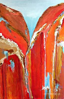 Painting - Canyon Reverie by Mary Mirabal