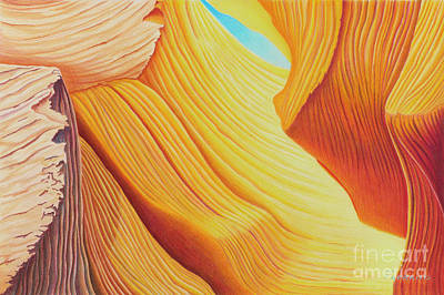 Wall Art - Painting - Canyon Reverie by Tracy Farrand