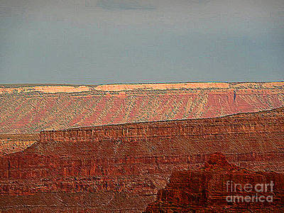 Photograph - Canyon Rims by Angela L Walker