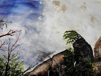 Painting - Canyon Sainte-anne by Betty-Anne McDonald