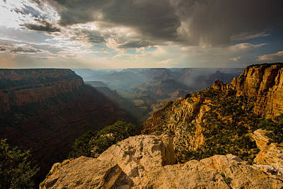 Photograph - Canyon Shadows by Mark Robert Rogers