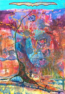 Painting - Canyon Spirits by Judith Kerrigan Ribbens