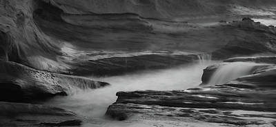 Photograph - Canyon Splash by Don Schwartz