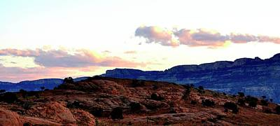 Jerry Sodorff Royalty-Free and Rights-Managed Images - Canyon Sunset by Jerry Sodorff