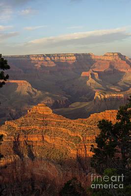 Photograph - Canyon Sunset by Steven Parker