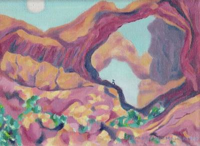 Canyon Art Print by Suzanne  Marie Leclair