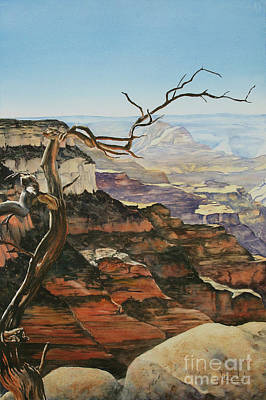 Painting - Canyon View by Glenyse Henschel