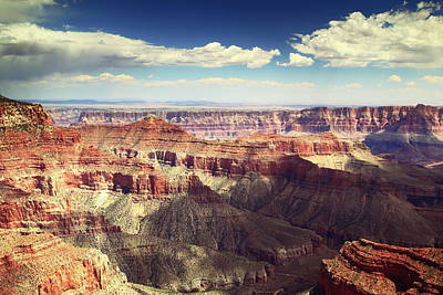 Photograph - Canyon View, Grand Canyon National Park by Roupen  Baker
