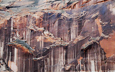 Photograph - Canyon Wall Tapestry by Geraldine Alexander