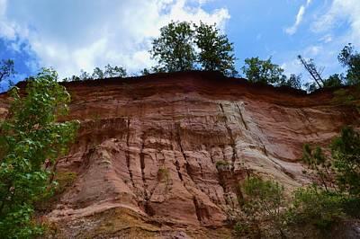 Photograph - Canyon Wall by Warren Thompson