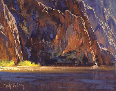 Arizona Painting - Canyon Walls by Cody DeLong