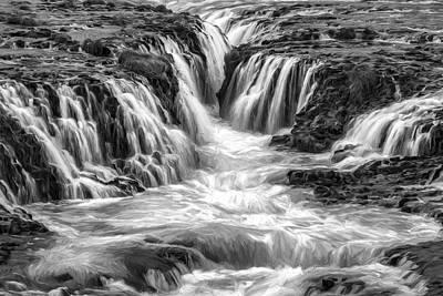 Digital Art - Canyon Waters IIi by Jon Glaser