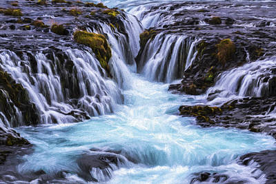 Digital Art - Canyon Waters Iv by Jon Glaser