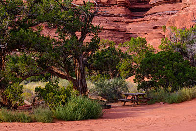 Photograph - Canyonland Camping by Tikvah's Hope
