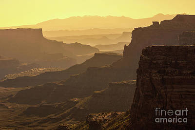 Photograph - Canyonland Layers by Anthony Heflin