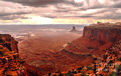 Photograph - Canyonland Rain by Robert Bales