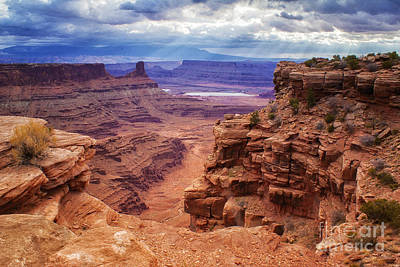 Photograph - Canyonlands After The Storm by Priscilla Burgers