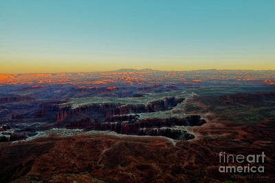 Photograph - Canyonlands At Dusk by David Arment