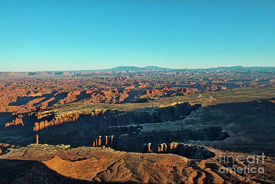 Photograph - Canyonlands At Sunset by David Arment