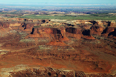 Photograph - Canyonlands Buttes In Canyonlands National Park by Jean Clark