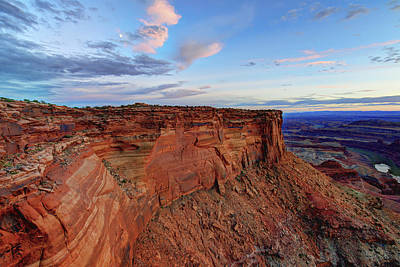 Colorado Sunset Photograph - Canyonlands Delight by Chad Dutson