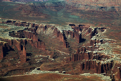 Photograph - Canyonlands Fins by Jean Clark