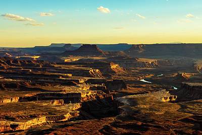 Photograph - Canyonlands Golden Hour by James Marvin Phelps