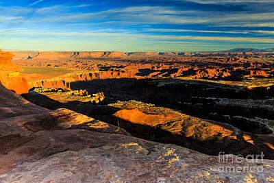 Photograph - Canyonlands National Park Sunset by Ben Graham