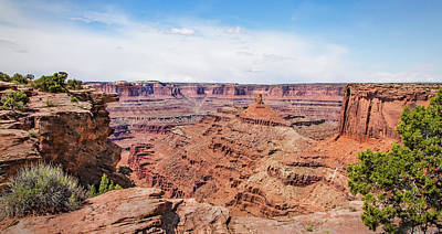 Photograph - Canyonlands Near Moab by James Woody