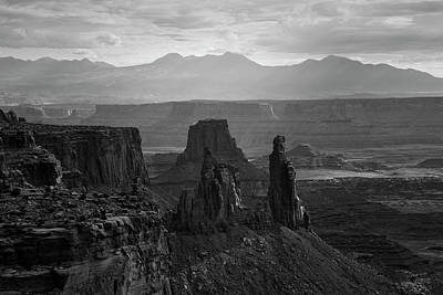 Photograph - Canyonlands Np IIi Bw by David Gordon
