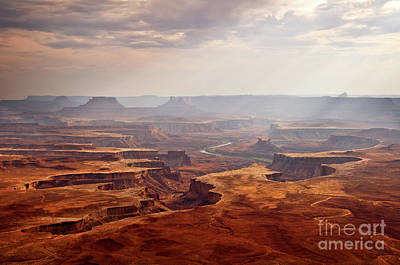 Outlook Photograph - Canyonlands Panorama by Delphimages Photo Creations